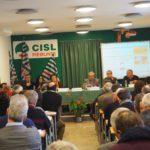 Durante la presentazione del nuovo sito Cisl Piemonte