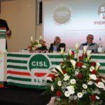 Intervento segretario Cisl Piemonte Alessio Ferraris primo piano
