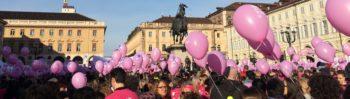 """Torino in rosa per la ricerca. Record di partecipanti alla """"Just the woman I am"""""""