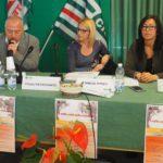Intervento del segretario Sergio Melis primo piano