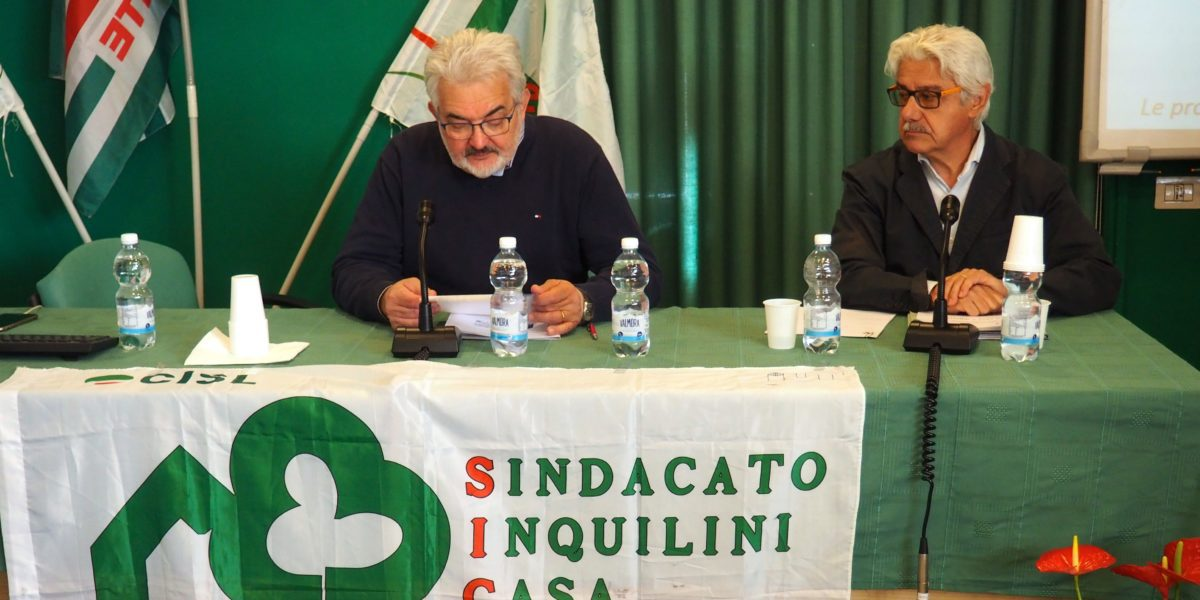 Ottavo congresso Sicet Cisl Piemonte primo piano