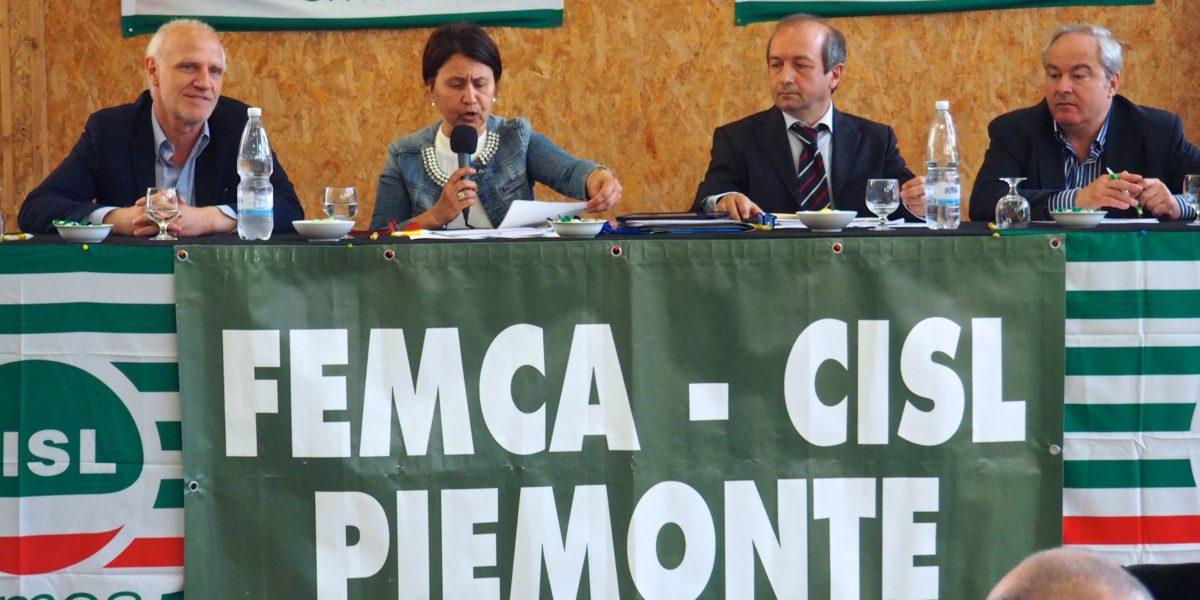 Il V congresso Femca Cisl Piemonte primo piano