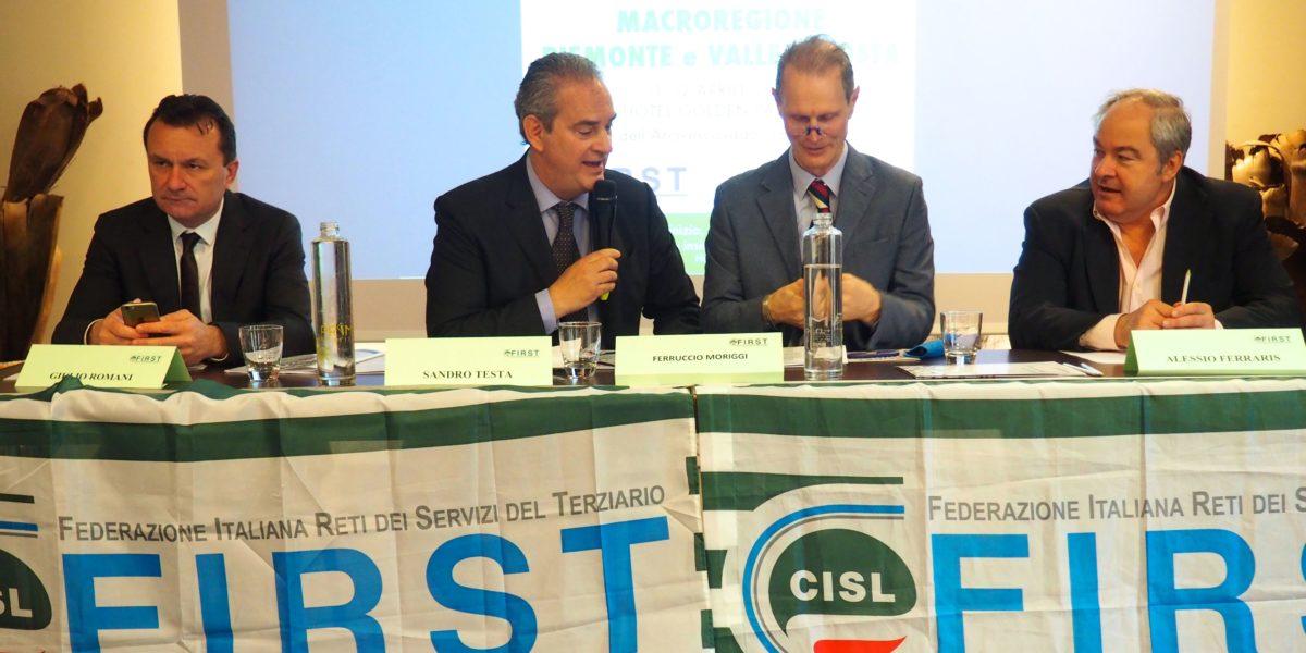 Il primo congresso First Cisl Piemonte e Valle D'Aosta primo piano