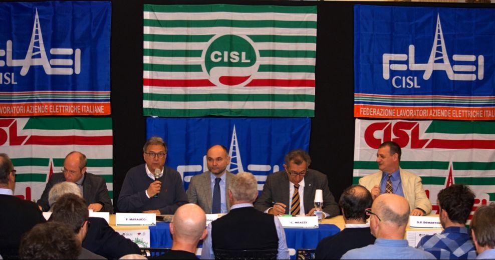 L'11° congresso Flaei Cisl Piemonte primo piano