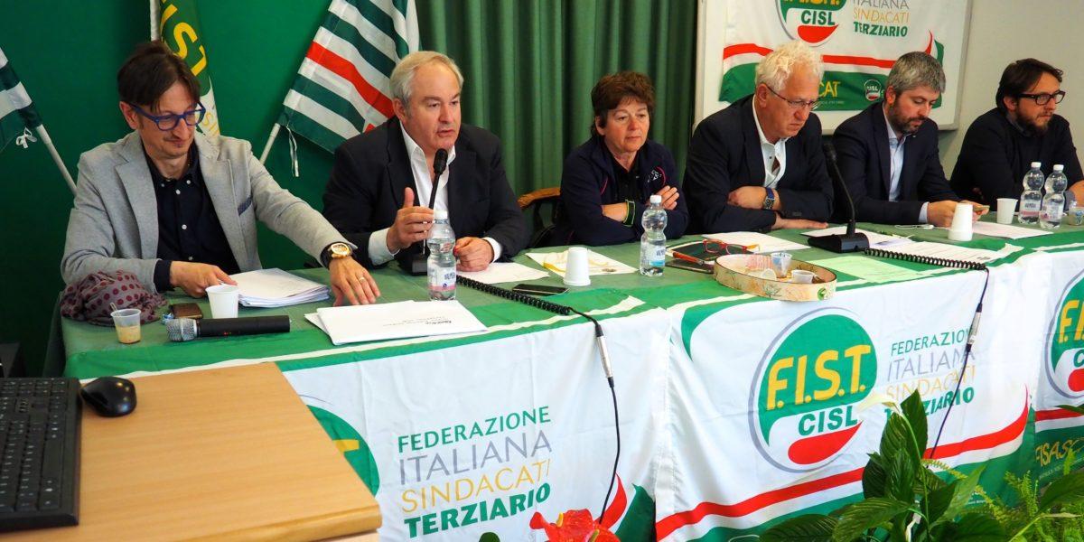 Il primo congresso Fist Cisl Piemonte primo piano