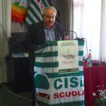 Intervento del segretario Cisl Piemonte Alessio Ferraris primo piano