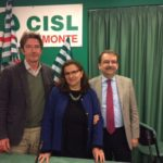La nuova segreteria Cisl Medici con Giordano, Grosso e Fusaro primo piano