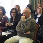 In sala la responsabile regionale Inas, Donatella Piazzale e i segretari regionali Cisl, Bruna Tomasi Cont e Sergio Melis primo piano