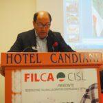 Il segretario generale Filca Cisl Piemonte Piero Donnola primo piano