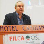 Intervento del segretario generale Cisl Piemonte Alessio Ferraris primo piano