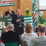 La relazione del segretario Lorenzi primo piano
