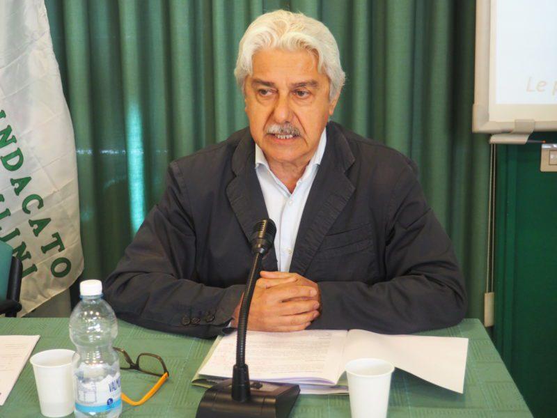 Il segretario generale Sicet Piemonte Giovanni Baratta primo piano