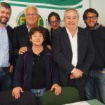 Foto di gruppo al congresso Fist Piemonte primo piano