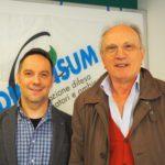 Riccardo Sammartano e Sergio Gaiotti della nuova segreteria regionale Adiconsum primo piano