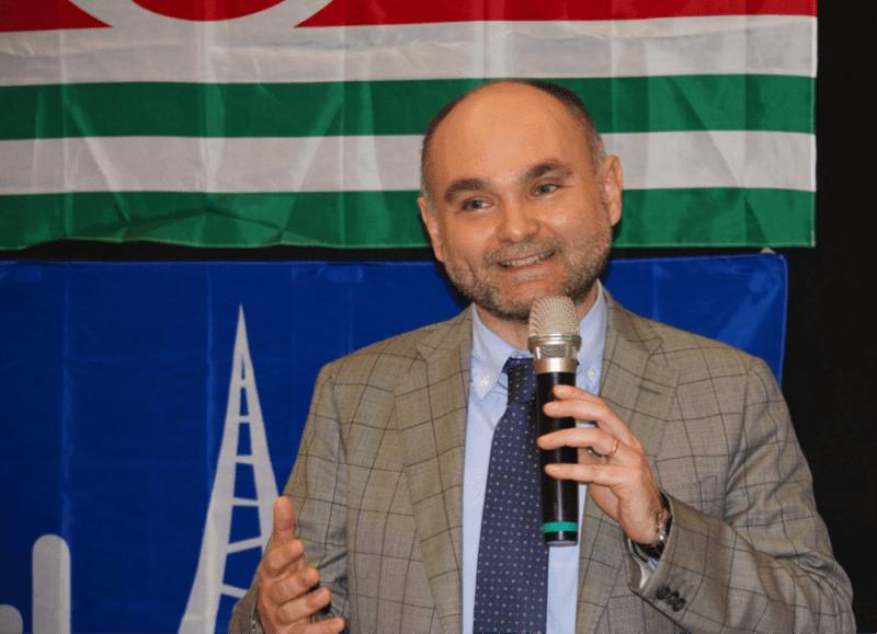 Il segretario generale Flaei Cisl Piemonte Luca Pasquadibisceglie primo piano