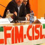Il segretario nazionale Fim Ferdinando Uliano primo piano