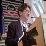 L'intervento dei Cristiano Montagnini (Fisascat Piemonte)