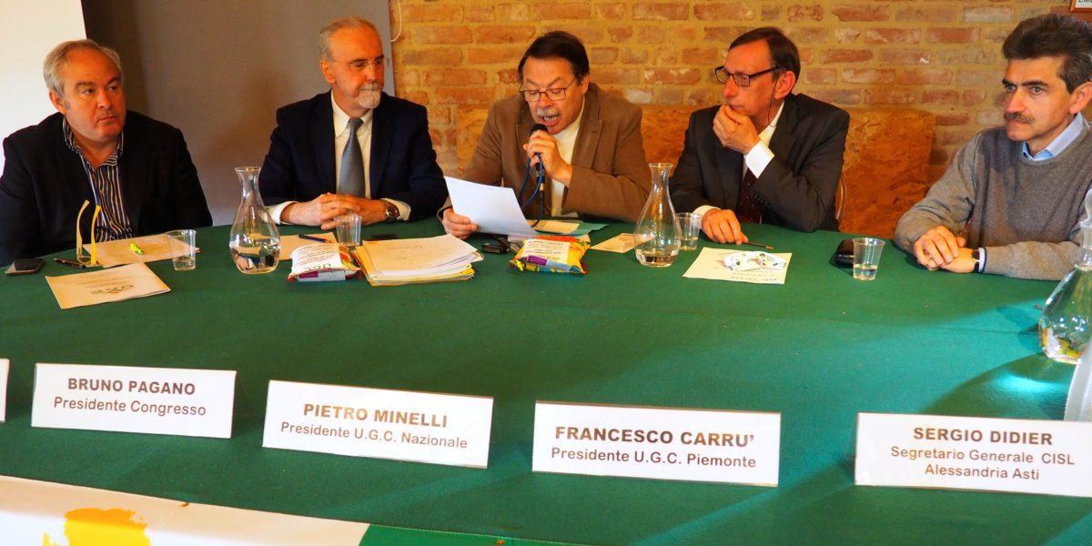 Il nono congresso Ugc Piemonte primo piano