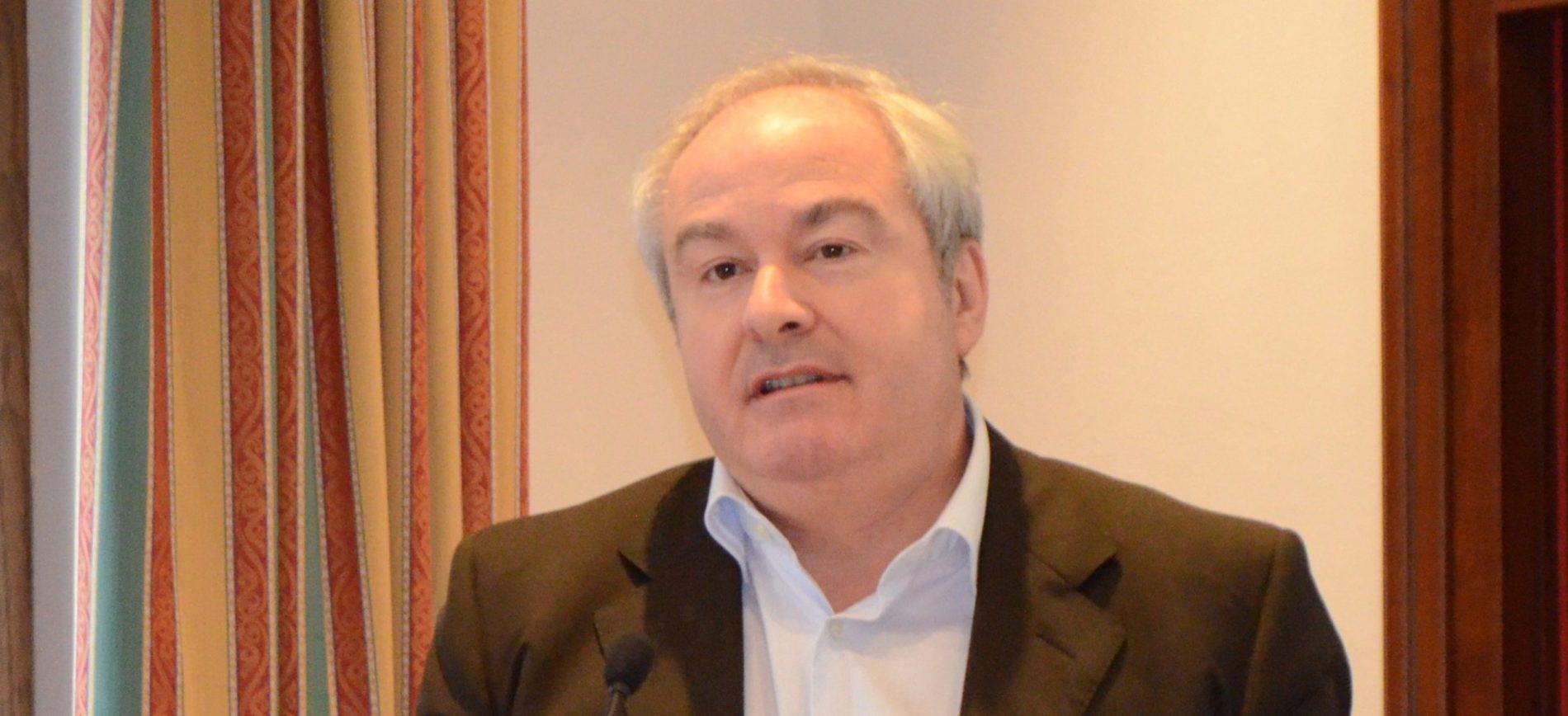 Il segretario generale Alessio Ferraris primo piano