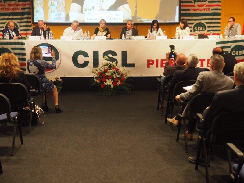 Furlan al XII congresso Cisl Piemonte primo piano