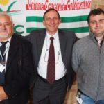 La segreteria Ugc: Carlo Cavallone, Francesco Carrù e Mattia Garassino primo piano