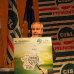 La relazione del segretario Alessio Ferraris primo piano