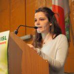L'intervento di Roberta Passarini (Gioc Torino e Piemonte)