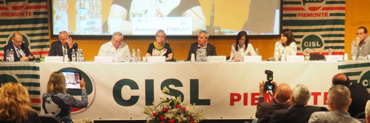 Secondo giorno congresso Cisl Piemonte primo piano