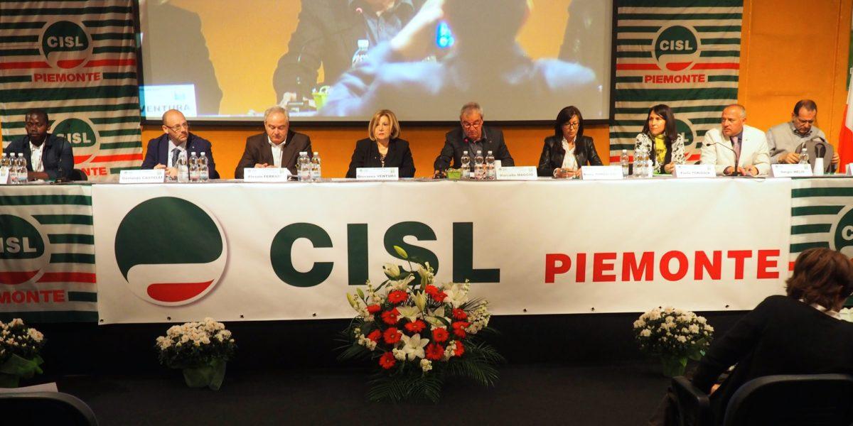 Il XII congresso Cisl Piemonte primo piano