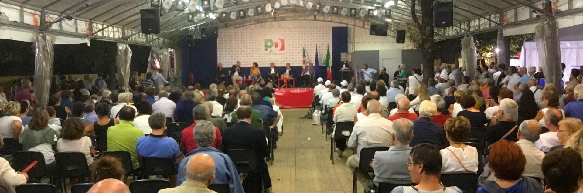 Foto Festa Unità Torino 2016 pubblico