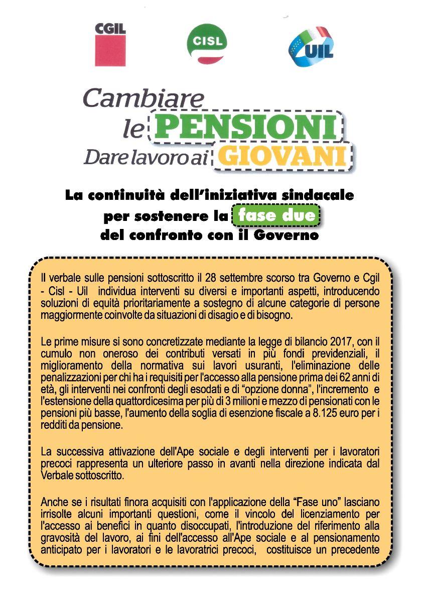 volantino Cambiare le Pensioni_1 per sito
