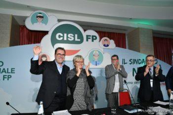 Congresso straordinario Cisl Fp: Maurizio Petriccioli eletto segretario generale della Cisl Fp
