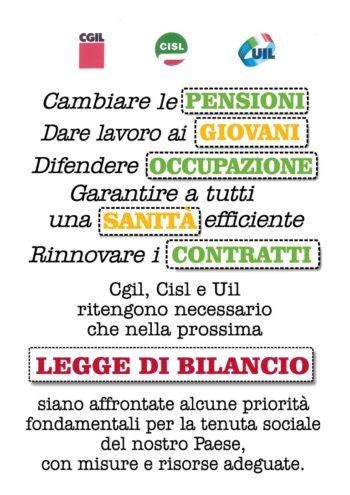 Allegato1_volantino CGIL CISL UIL LEGGE DI BILANCIO_1 PER ASSEMBLEE