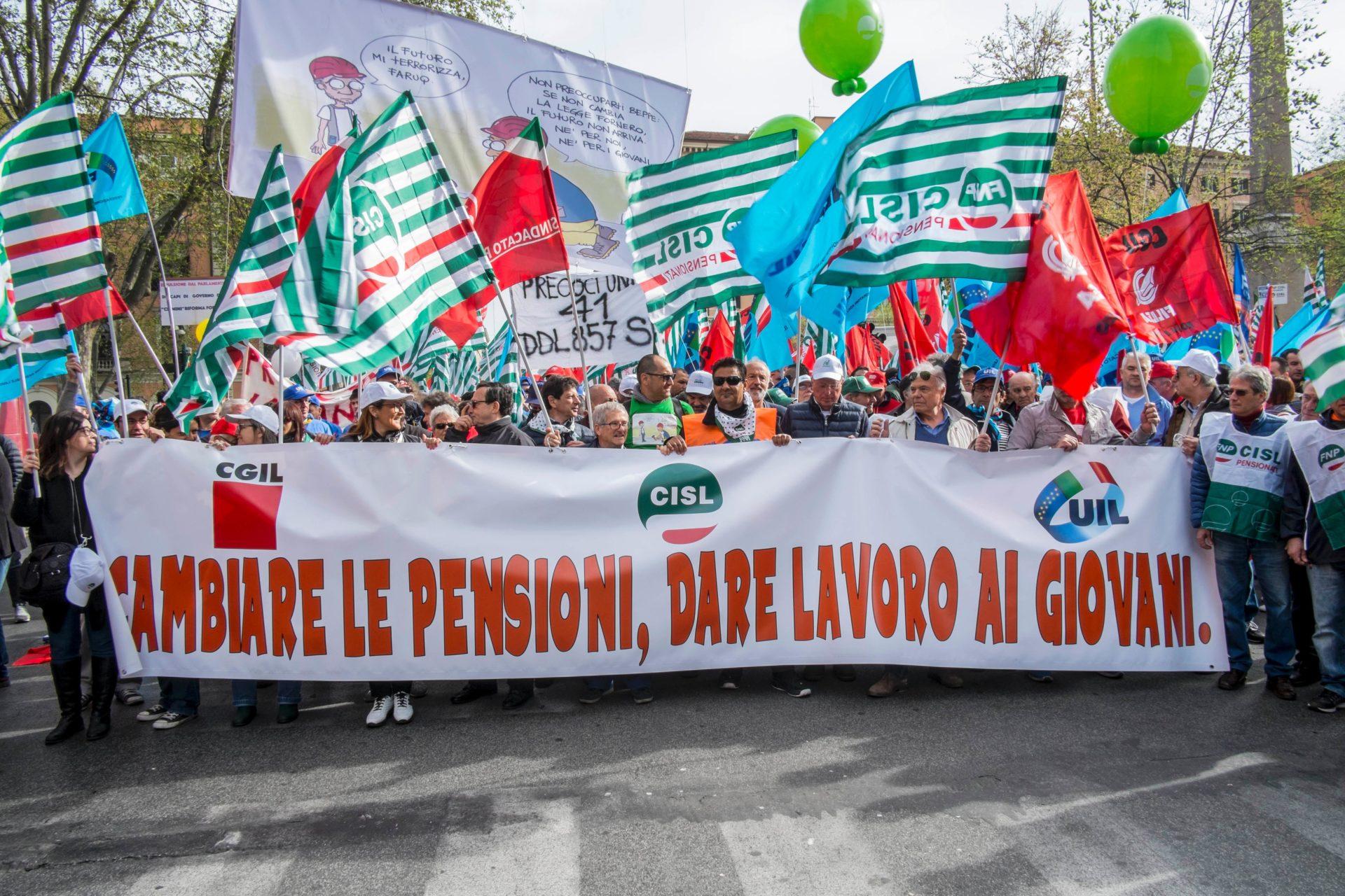 mobilitazione di Cgil Cisl Uil su Legge di bilancio primo piano
