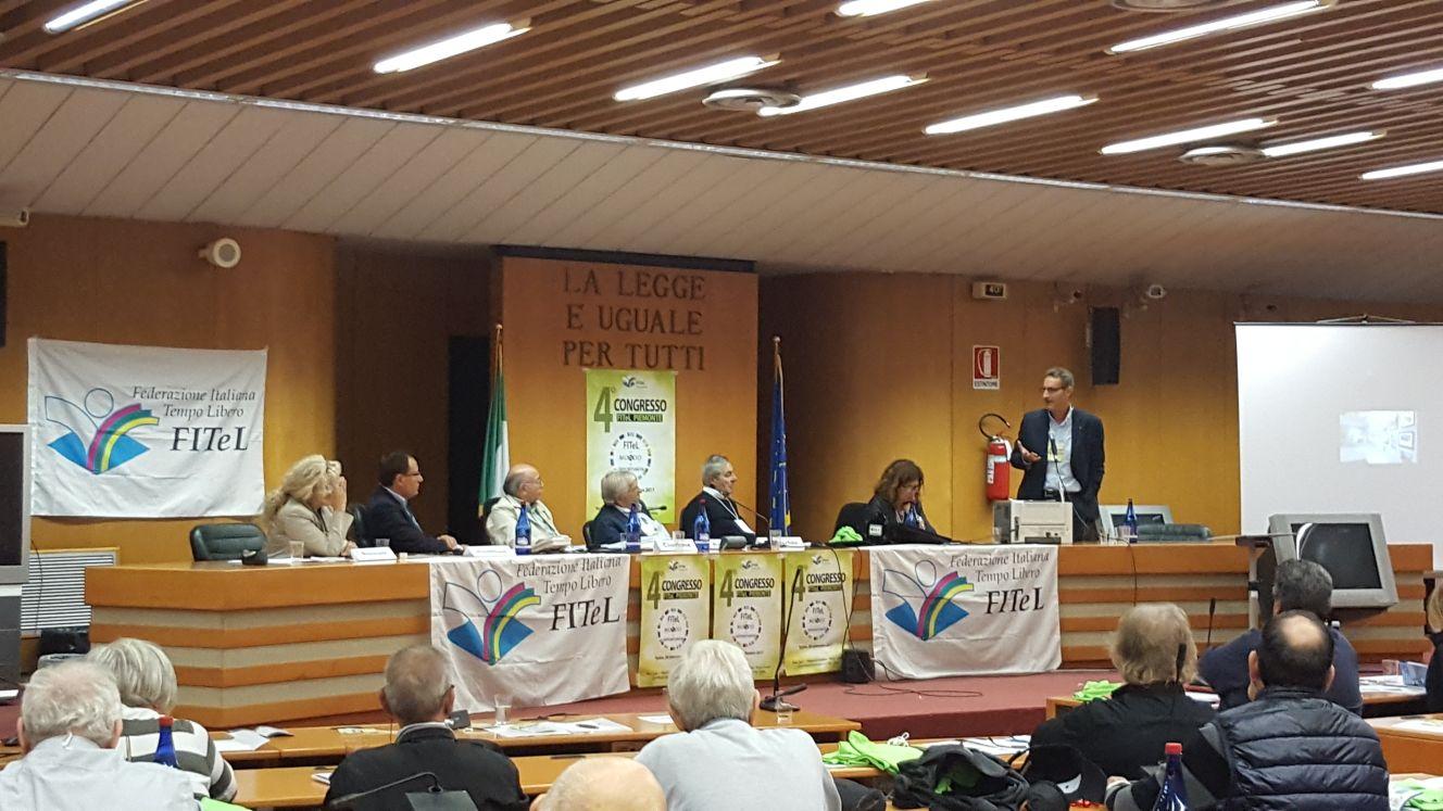 Quarto congresso Fitel Piemonte vista sala