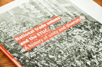 Europa e libro di Ciampani copertina