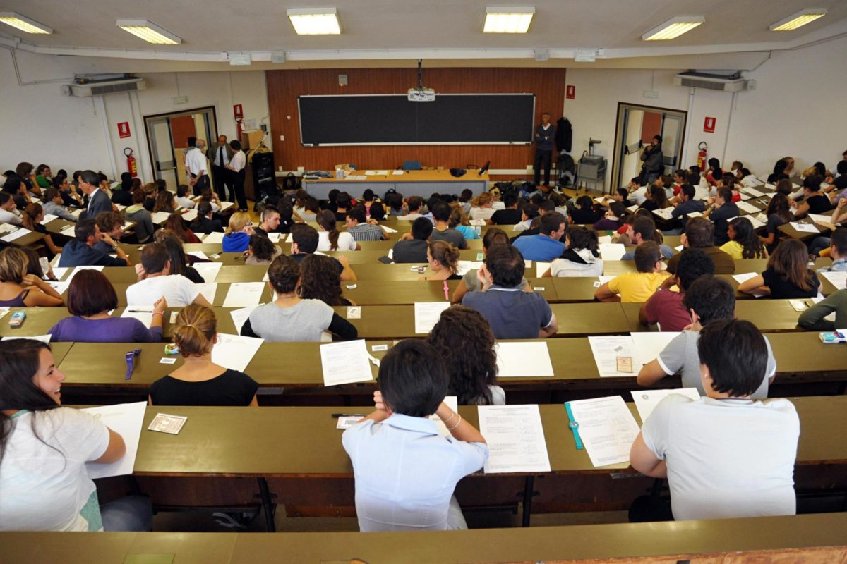 Università e ricerca vista aula magna