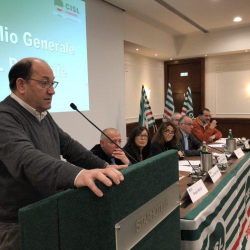 Consiglio generale Cisl Piemonte del 13/12/2017 Donnola