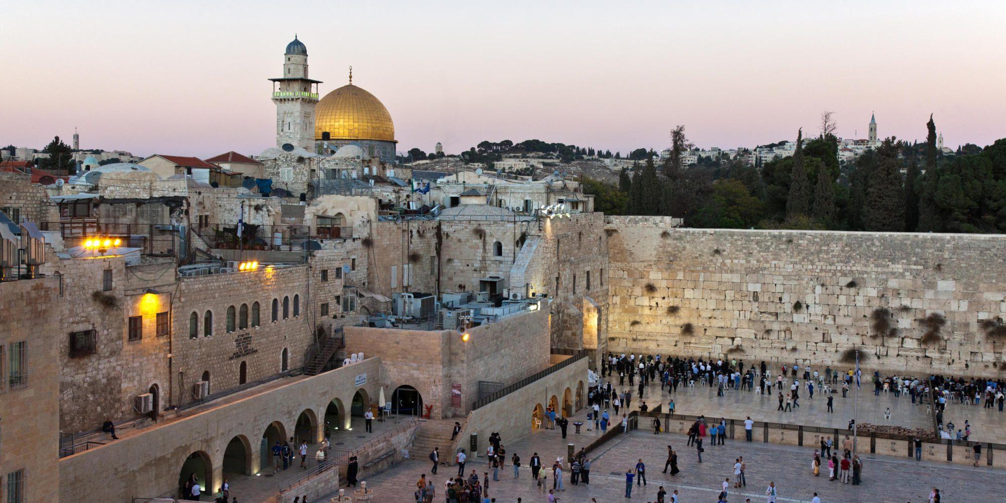 Gerusalemme vista