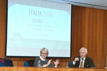 Europa, lavoro, fisco e welfare: le priorità della Cisl per il buon governo e lo sviluppo dell'Italia