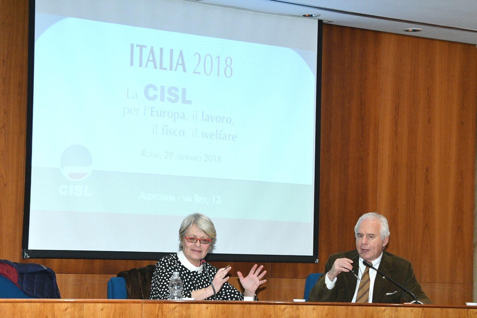 Furlan intervistata del direttore di Avvenire Tarquinio su europa, lavoro, fisco e welfare primo piano cislpiemonte.it
