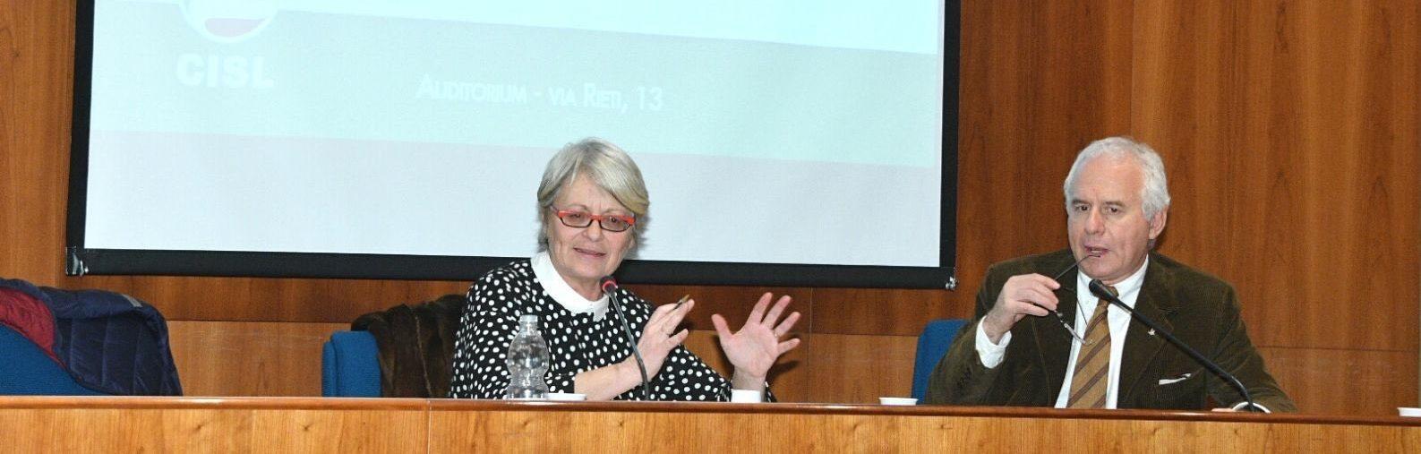 Furlan intervistata del direttore di Avvenire Tarquinio su europa, lavoro, fisco e welfare primi piano cislpiemonte.it