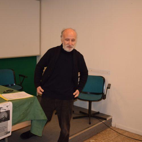 Francesco Arini durante la riunone