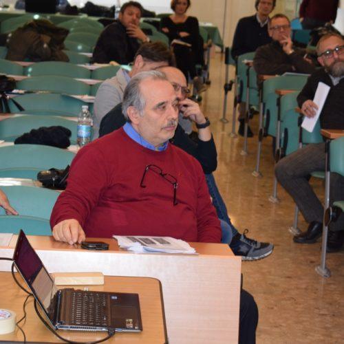 Platea in primo piano Donato Spinazzola