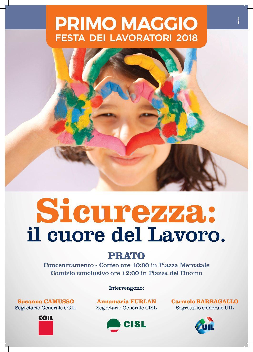 1 maggio 2018 Locandina Prato A4