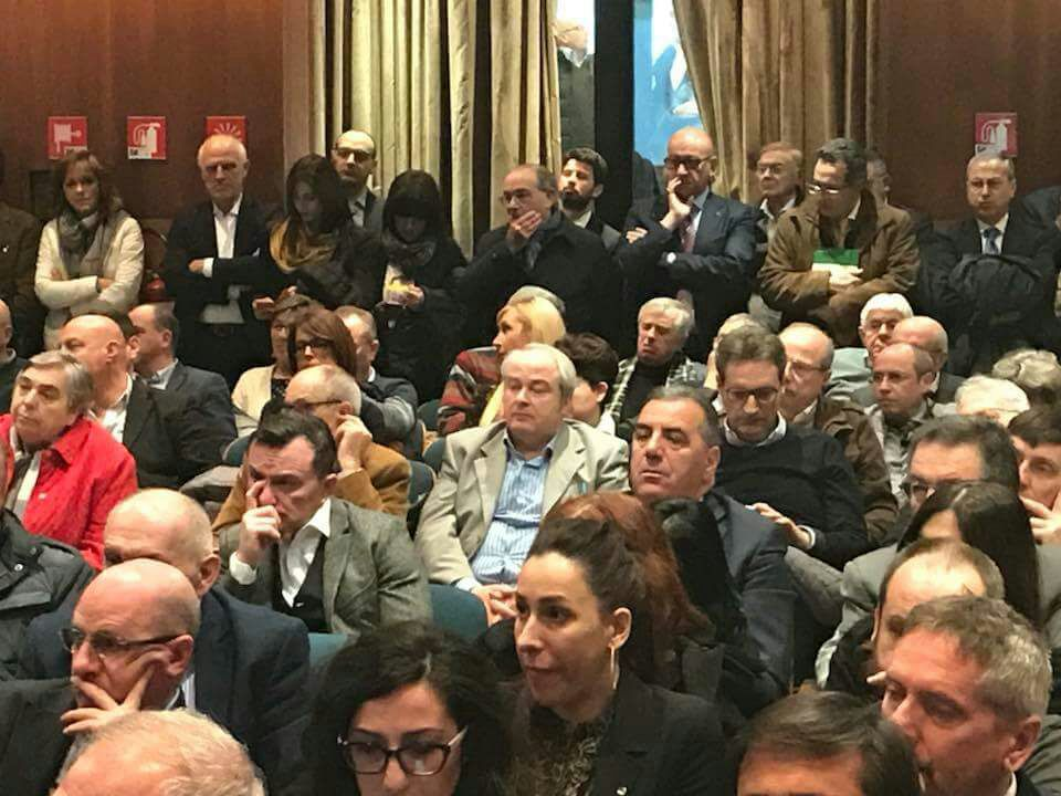 Consiglio generale confederale Cisl del 28 marzo 2018 a Roma vista sala