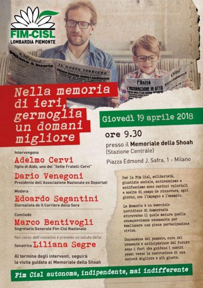 Programma Memoria e Antifascismo Fim a Milano