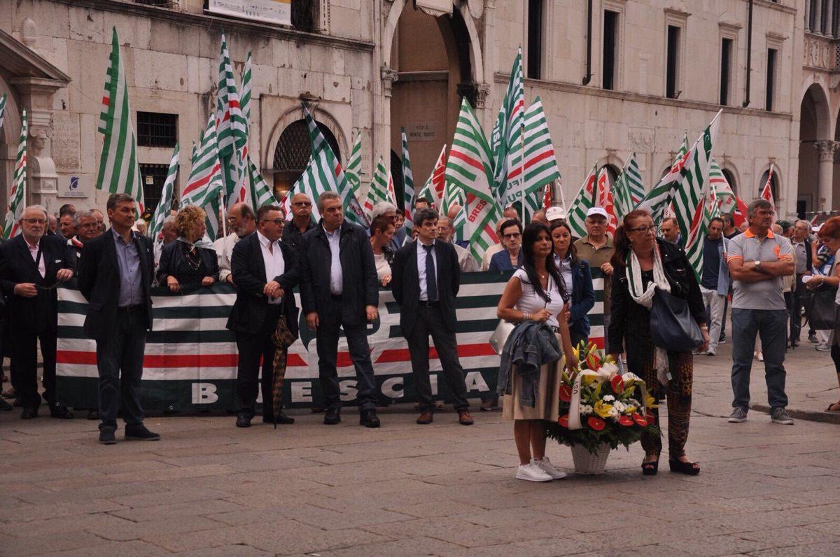 44° anniversario della strage di Brescia