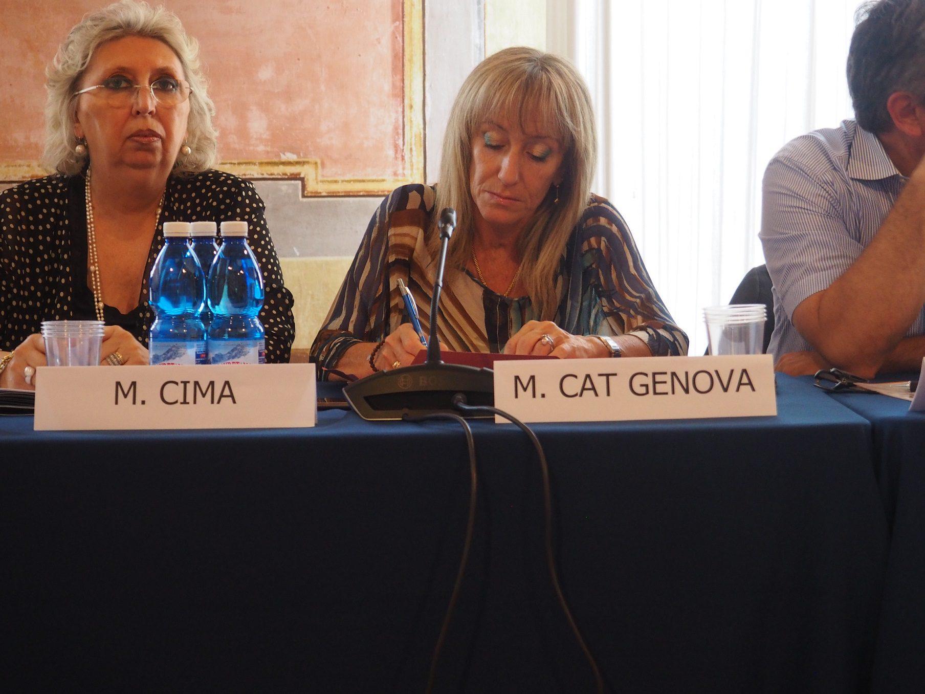 Monica Cat Genova, Coordinatrice regionale CISL per le politiche di genere