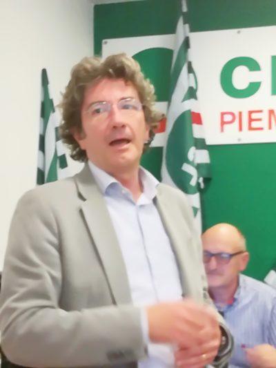 Germano Giordano Cisl Medici Piemonte